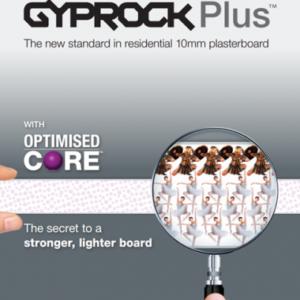 2400x1200x10mm R/E Gyprock Plasterboard