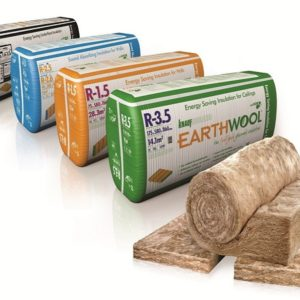 EARTHWOOL R3.5x430x175mm CEIL, BATTS 21pcs 11.78m2