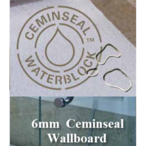 Cemintel 3000x1200x6mm Wallboard