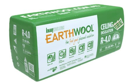 EARTHWOOL R3.5x580x175mm CEIL, BATTS 21pcs 14.13m2