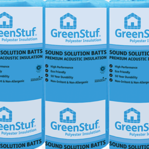 GreenStuf® Sound Solution® 580 x 1160 x 90mm